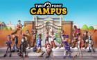Artworks de Two Point Campus sur Switch
