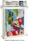 Photos de Super Mario 64 sur N64