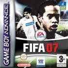 Boîte FR de FIFA 07 sur GBA