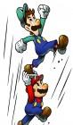 Artworks de Mario & Luigi : Superstar Saga sur GBA