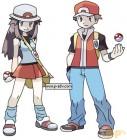 Artworks de Pokémon Vert Feuille et Rouge Feu sur GBA
