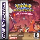 Boîte FR de Pokémon : Donjon Mystère Equipe de Secours Rouge sur GBA