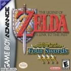 Boîte US de The Legend of Zelda : A Link to the Past sur GBA