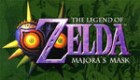 Logo de The Legend of Zelda : Majora's Mask sur N64