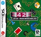 Boîte FR de 42 Jeux Indémodables sur NDS