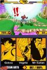 Screenshots de Dragon Ball Z : SuperSonic Warriors 2 sur NDS