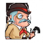 Artworks de Henry Hatsworth in the Puzzling Adventure sur NDS