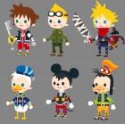 Artworks de Kingdom Hearts Re:coded sur NDS