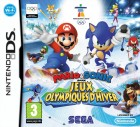 Boîte FR de Mario & Sonic aux Jeux Olympiques d'Hiver sur NDS
