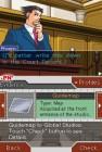 Screenshots de Phoenix Wright : Ace Attorney sur NDS