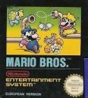 Boîte FR de Mario Bros sur NES