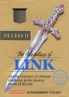 Boîte US de The Adventure of Link (Zelda II) sur NES
