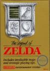 Boîte US de The Legend Of Zelda sur NES