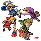 Artworks de The Legend of Zelda : Four Swords Adventures sur NGC