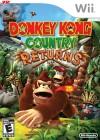 Boîte US de Donkey Kong Country Returns sur Wii