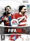 Boîte FR de FIFA 2008 sur Wii