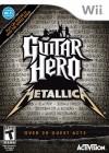 Boîte US de Guitar Hero Metallica sur Wii