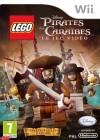 Boîte FR de LEGO Pirates des Caraïbes : Le jeu vidéo sur Wii