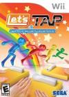 Boîte US de Let's Tap sur Wii