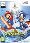Boîte FR de Mario & Sonic aux Jeux Olympiques d'Hiver sur Wii