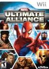 Boîte FR de Marvel : Ultimate Alliance sur Wii