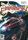 Boîte FR de Need for Speed Carbon sur Wii