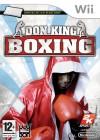 Boîte FR de Don King Boxing sur Wii