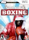 Boîte US de Don King Boxing sur Wii