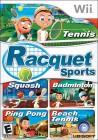Boîte FR de Racket Sports Party sur Wii
