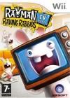 Boîte FR de Rayman prod présente The Lapins Crétins Show sur Wii