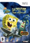 Boîte FR de Bob l'Eponge : la Créature du Crabe Croustillant sur Wii