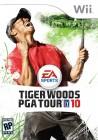 Boîte US de Tiger Woods PGA Tour 10 sur Wii