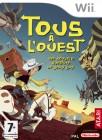 Boîte FR de Tous à l'Ouest - Une nouvelle aventure de Lucky Luke sur Wii