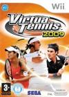Boîte FR de Virtua Tennis 2009 sur Wii
