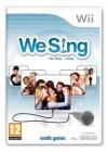 Boîte FR de We Sing sur Wii